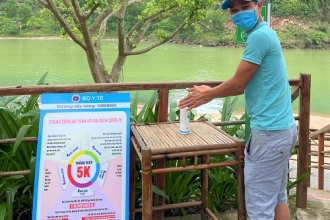 Nghiêm túc thực hiện các biện pháp phòng, chống dịch bệnh trong hoạt động du lịch